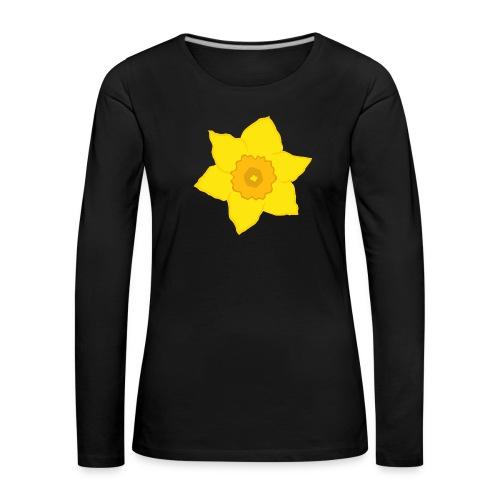 Osterglocke - Frauen Premium Langarmshirt