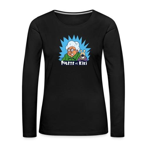 tshirt polete et kiki - T-shirt manches longues Premium Femme