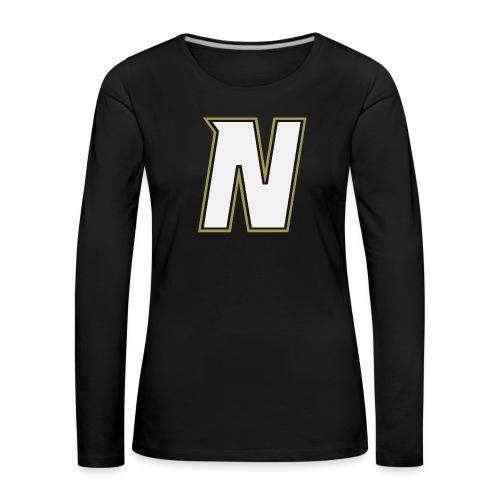 Nordic Steel WHITE N - Women's Premium Longsleeve Shirt