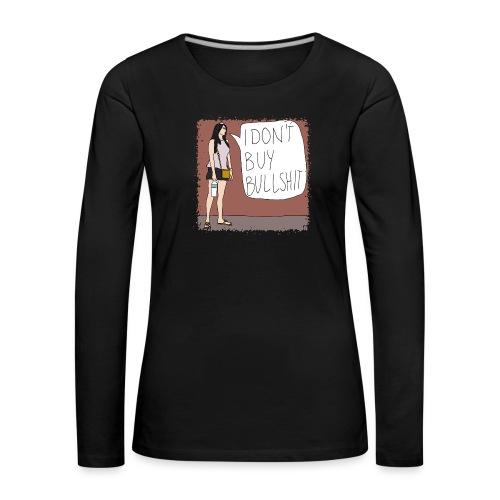 starke Frauen 09 - Frauen Premium Langarmshirt