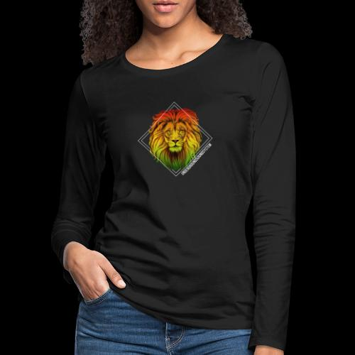 LION HEAD - UNDERGROUNDSOUNDSYSTEM - Frauen Premium Langarmshirt