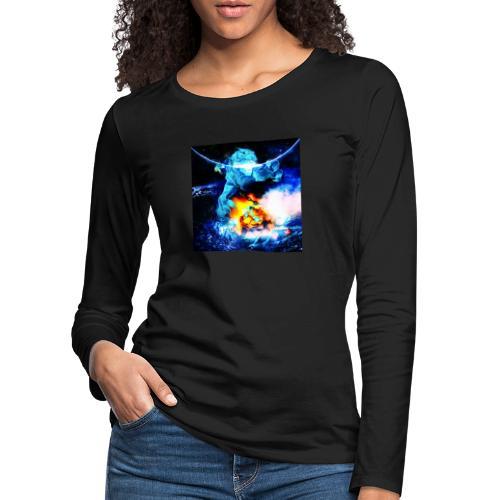 Magic adventure gamer poster - Women's Premium Longsleeve Shirt