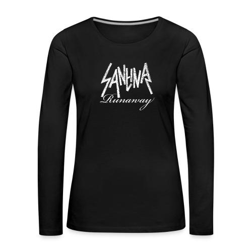 SANTINA gif - Women's Premium Longsleeve Shirt