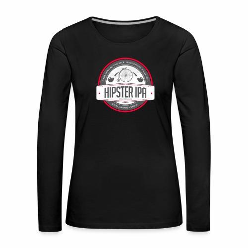 Hipster IPA - Women's Premium Longsleeve Shirt