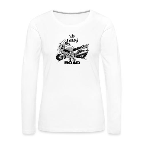 0884 FJR KING of the ROAD - Vrouwen Premium shirt met lange mouwen