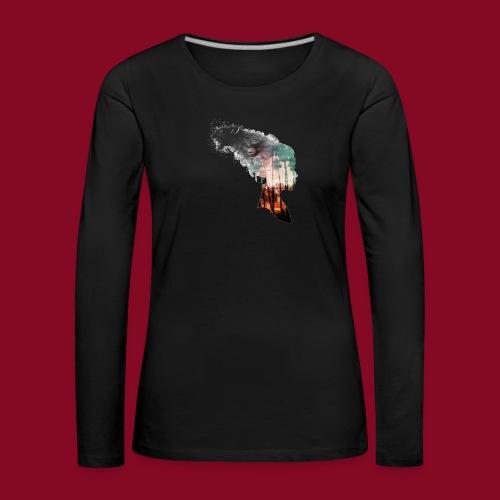 -Trasformation- - Maglietta Premium a manica lunga da donna