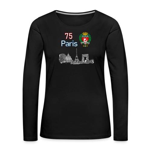 Paris france - T-shirt manches longues Premium Femme