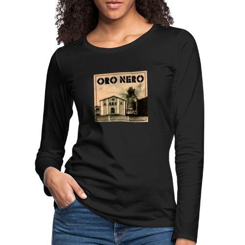 oro nero - Frauen Premium Langarmshirt