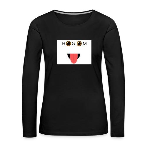 HetGameMisterie Logo - Vrouwen Premium shirt met lange mouwen