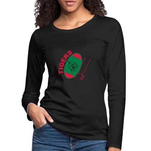 TIGERS - T-shirt manches longues Premium Femme