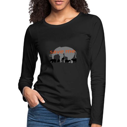 Animaux - T-shirt manches longues Premium Femme