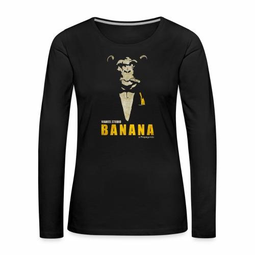 A Propaganda (transparent) - T-shirt manches longues Premium Femme
