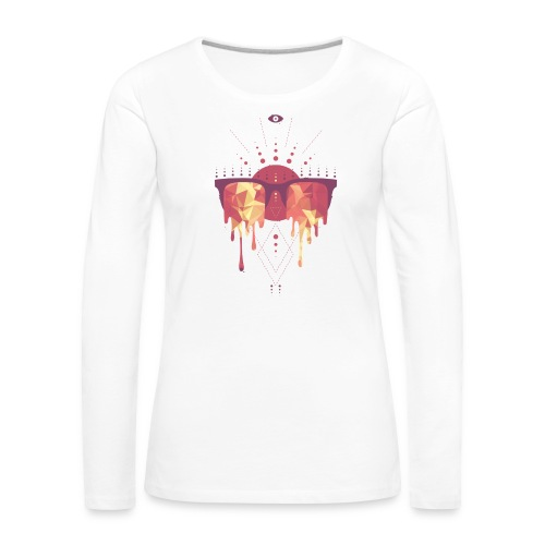 summer png - Dame premium T-shirt med lange ærmer