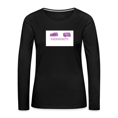 enderproductions enderidiots design - Women's Premium Longsleeve Shirt