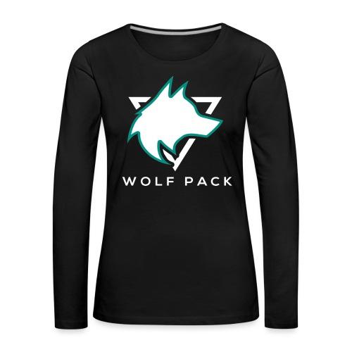 Wolf Pack Logo (NEW) - Women's Premium Longsleeve Shirt