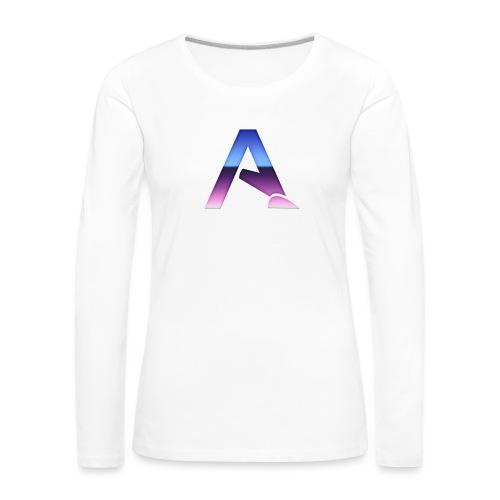 logga 3 - Långärmad premium-T-shirt dam