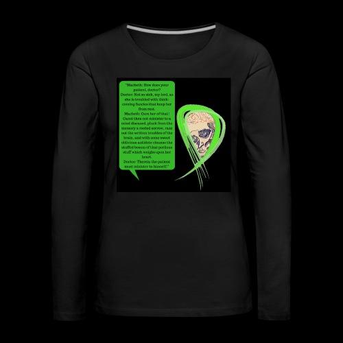 Macbeth Mental health awareness - Women's Premium Longsleeve Shirt