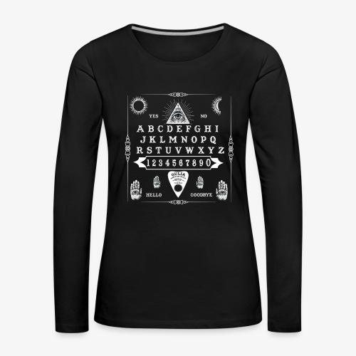 Ouija collection - T-shirt manches longues Premium Femme