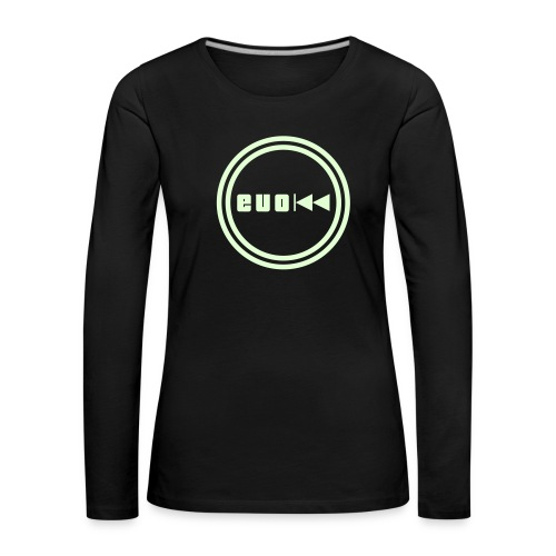 Evo-Kreis-Evo - Frauen Premium Langarmshirt