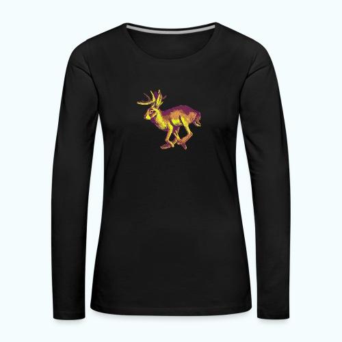 Fantasy Wolpertinger - Women's Premium Longsleeve Shirt