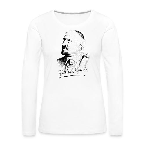 Débardeur Femme - Guillaume Apollinaire - T-shirt manches longues Premium Femme
