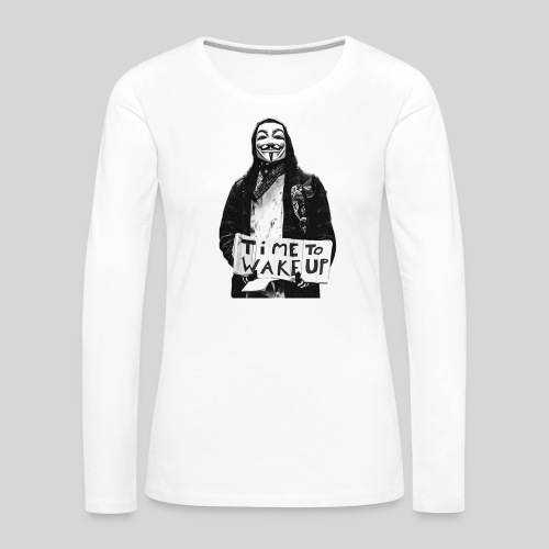 Time to wake up - T-shirt manches longues Premium Femme