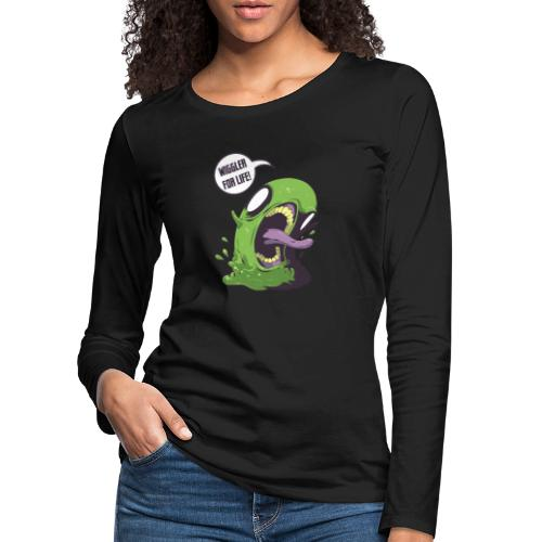 Wiggler For Life - Women's Premium Longsleeve Shirt