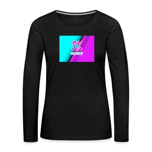 Sk Shirt - Vrouwen Premium shirt met lange mouwen