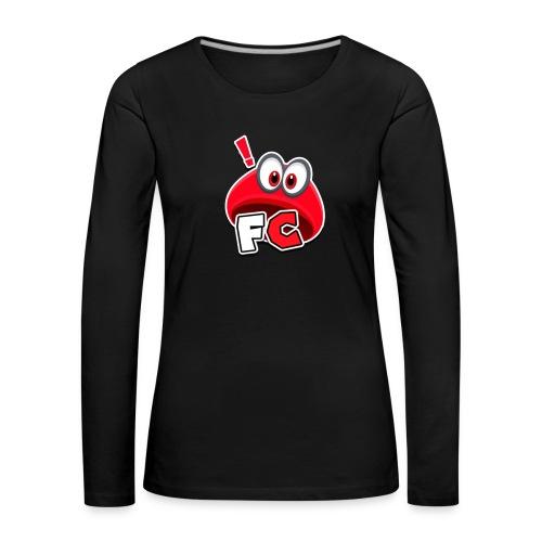 Flying Cappys Logo! - Frauen Premium Langarmshirt