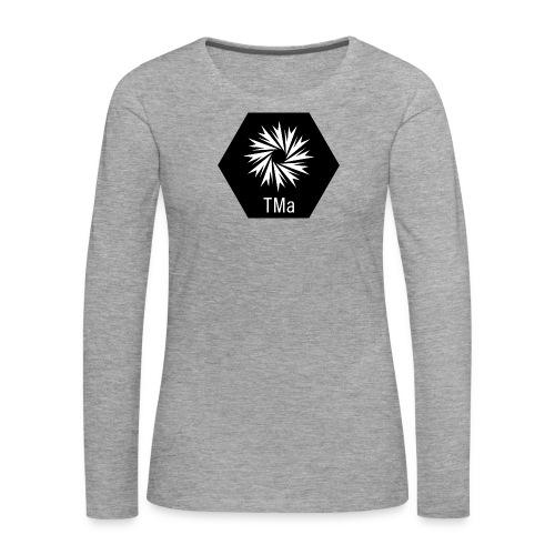 TMa - Naisten premium pitkähihainen t-paita