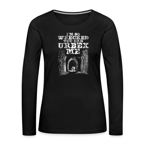 Urbex Me - T-shirt manches longues Premium Femme