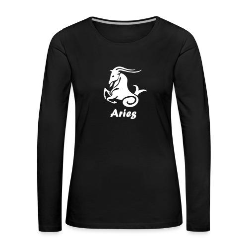 Bélier - T-shirt manches longues Premium Femme