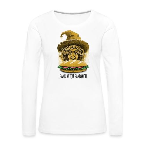 Sand Witch Sandwich V1 - Women's Premium Longsleeve Shirt