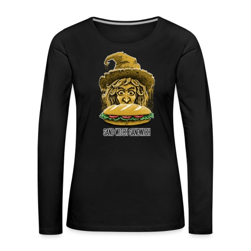 Sand Witch Sandwich V1 - Women's Premium Longsleeve Shirt