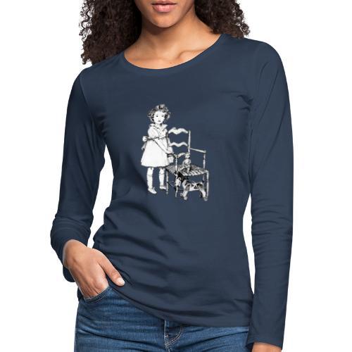Nelly et sa chaise - T-shirt manches longues Premium Femme