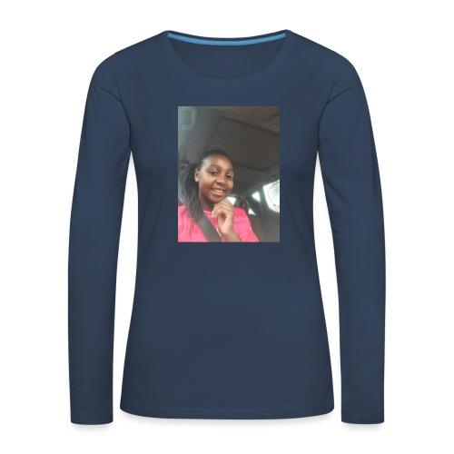 tee shirt personnalser par moi LeaFashonIndustri - T-shirt manches longues Premium Femme