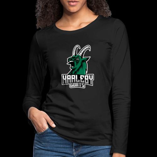 ORIGINAL GOAT - Naisten premium pitkähihainen t-paita