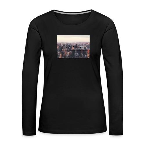 spreadshirt - T-shirt manches longues Premium Femme
