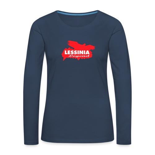 LESSINIA LEGEND - Maglietta Premium a manica lunga da donna