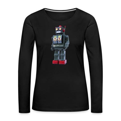 T-Shirt ROBOT - Maglietta Premium a manica lunga da donna