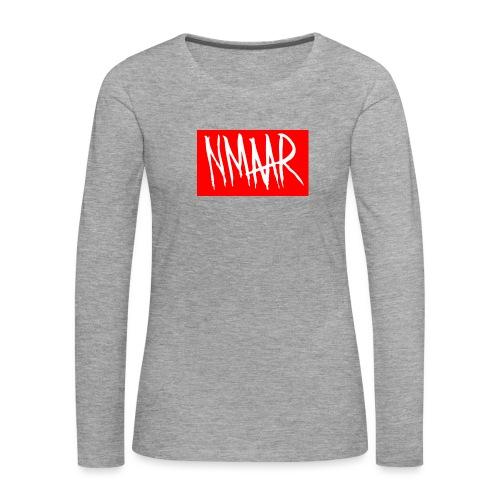 Logo Shirt - Dame premium T-shirt med lange ærmer