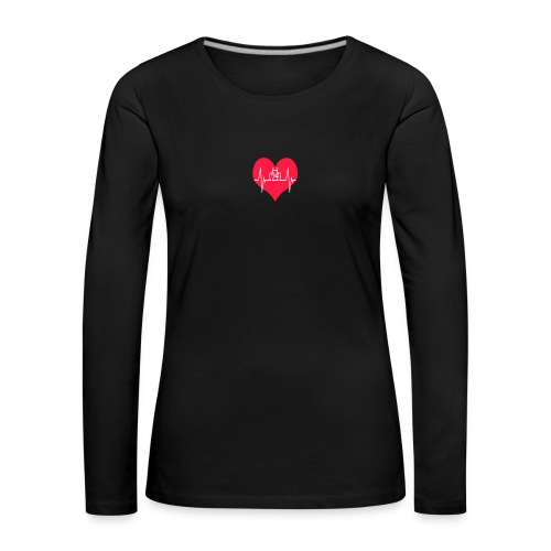 I love my Bike - Women's Premium Longsleeve Shirt