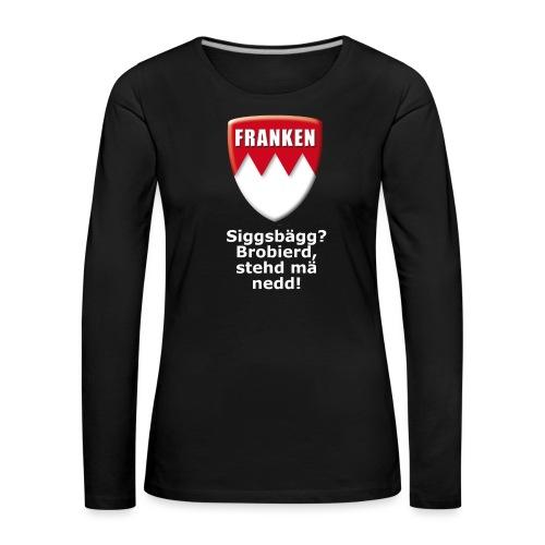 tshirt_siggsbagg - Frauen Premium Langarmshirt
