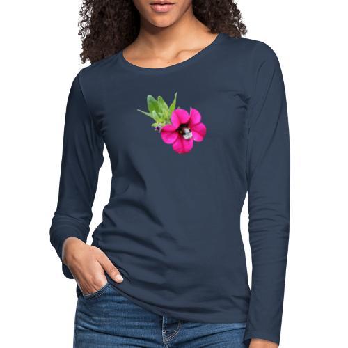 Miljoonakello ja kimalainen - Naisten premium pitkähihainen t-paita