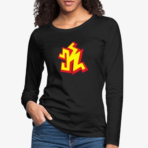 k png - T-shirt manches longues Premium Femme