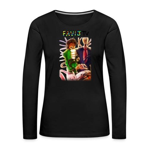ShirtFinale png - Maglietta Premium a manica lunga da donna