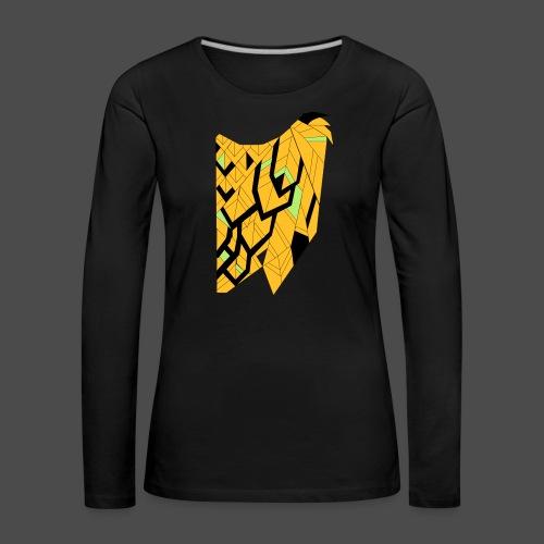 Owl Colour Redraw - Women's Premium Longsleeve Shirt