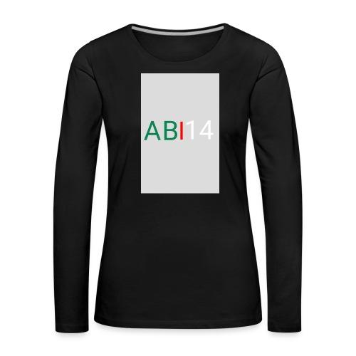 ABI14 - T-shirt manches longues Premium Femme