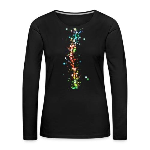 wzorek_01 - Koszulka damska Premium z długim rękawem