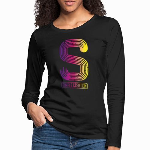 Simple creation - Women's Premium Longsleeve Shirt